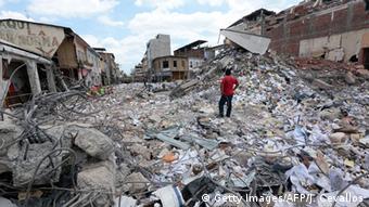Ecuador Zerstörung nach Erbeben in Portoviejo