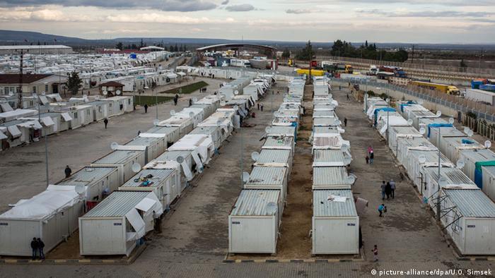 Türkei Flüchtlingslager in Kilis (picture-alliance/dpa/U.O. Simsek)