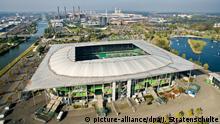 Deutschland Volkswagen-Arena in Wolfsburg