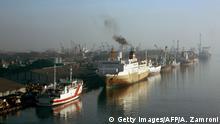 Indonesien Tanjung Priok Sea Port in Jakarta