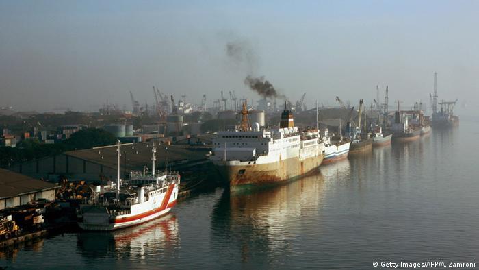 Jakarta sea port