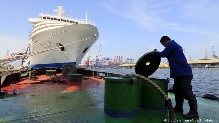 Indonesien Tanjung Priok Sea Port Fähre