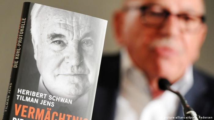 Helmut Kohl book and ghostwriter Heribert Schwan