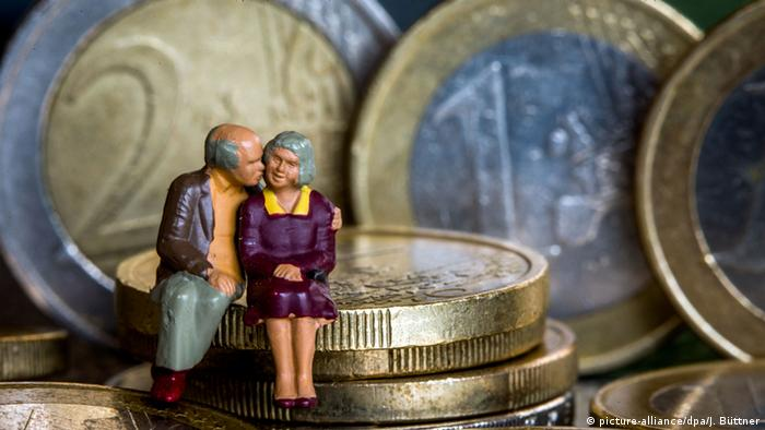 Deutschland Rentenerhöhung Symbolbild