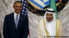 Saudi-Arabien Barack Obama Gipfelkonferenz des Golf-Kooperationsrates in Riad