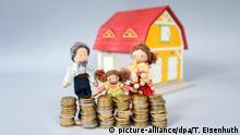 Symbolbild Familie und Eigenheim