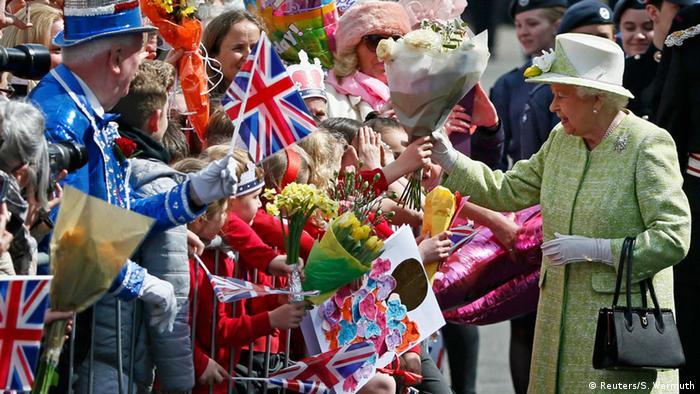 Großbritannien 90. Geburtstag von Königin Elisabeth II.