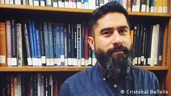 Chile Politologe Cristobal Bellolio