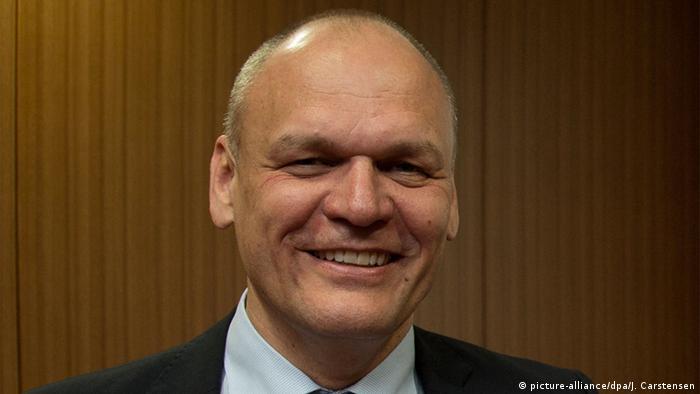 Johannes Ebert Generalsekretär des Goethe-Institut