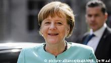 Niederlande Angela Merkel in Middelburg