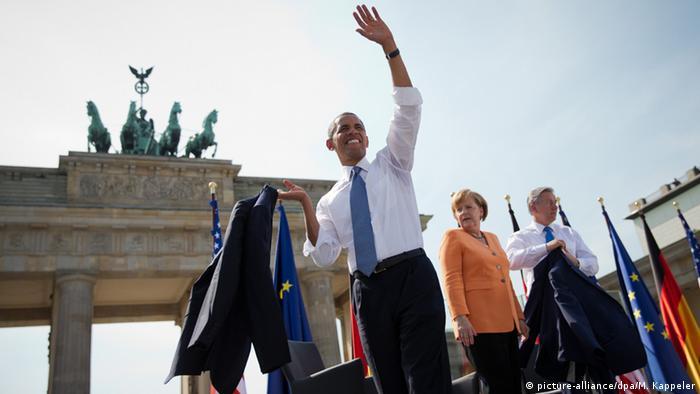 Барак Обама в Берлине