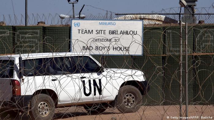 A MINURSO position in Western Sahara