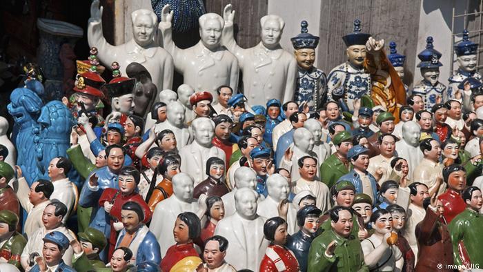Фарфоровые фигуры Мао Цзэдуна