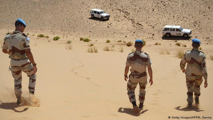 UN troops in Westsahara (Getty Images/AFP/A. Senna)
