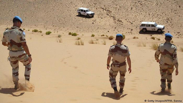 Westsahara UN MINURSO Soldaten