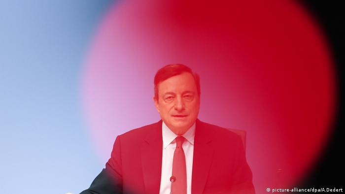 Mario Draghi EZB PK Frankfurt am Main