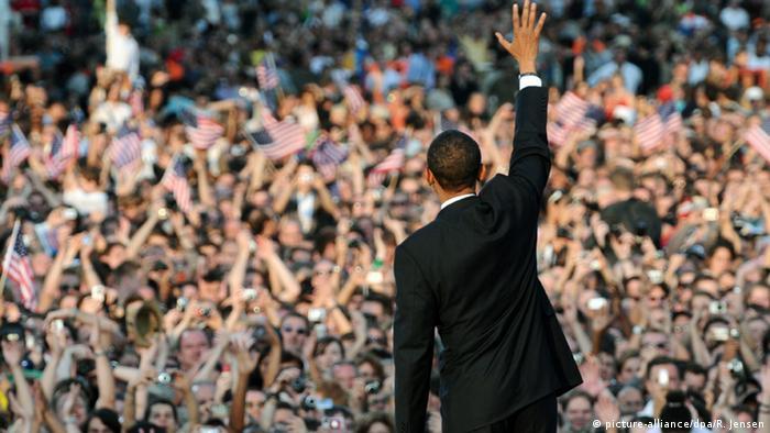 Deutschland Barack Obama in Berlin