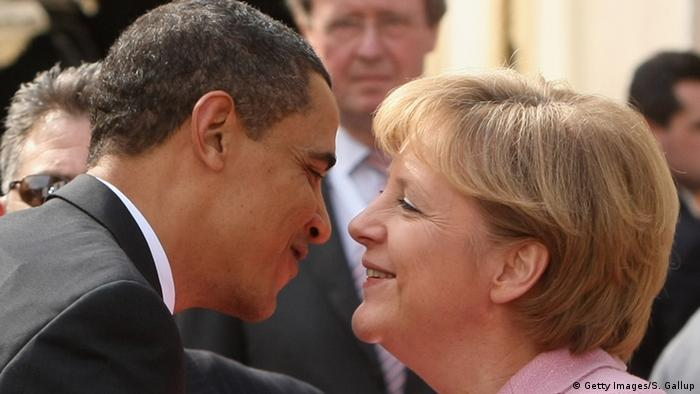 Barack Obama showers praise on Germany and its leader