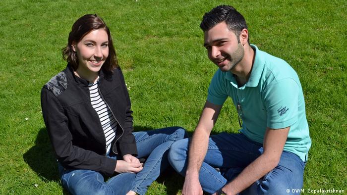 Katharina Reitmüller und Bassel Wali