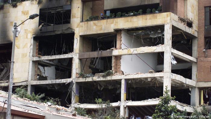 Kolumbien Anschlag auf den Club Nogal in Bogota