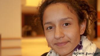 Berta Zúñiga Cáceres, hija de la recientemente asesinada líder Berta Cáceres, habló con DW.