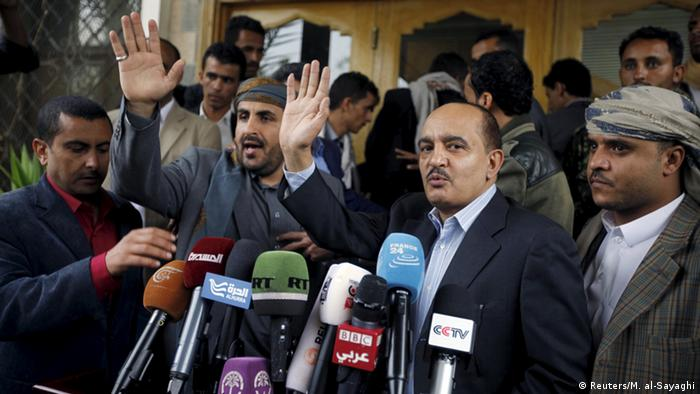 Yemen delegates arriving for peace talks in Kuwati