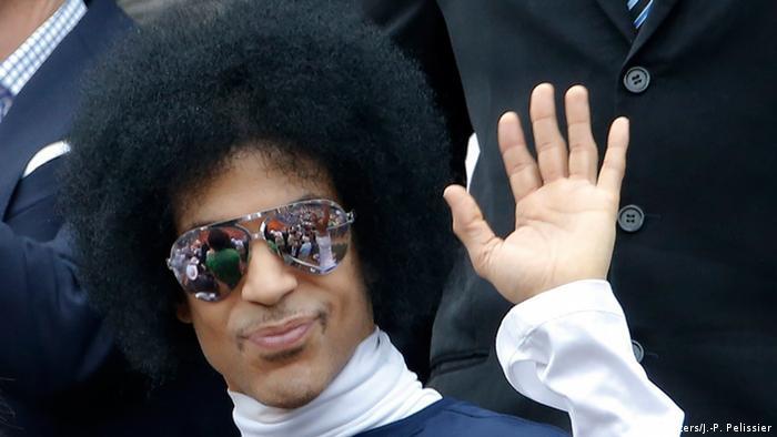 Frankreich Sänger Prince in Paris