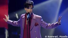 US-Sänger Prince bei American Idol in Kalifornien. (Reuters/C. Pizzello)