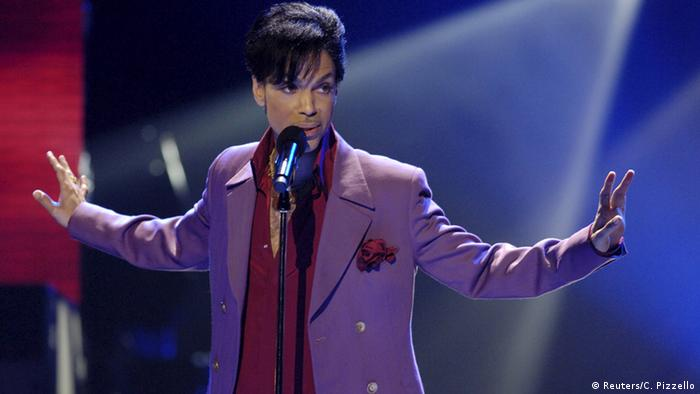 USA Sänger Prince bei American Idol in Kalifornien (Reuters/C. Pizzello)