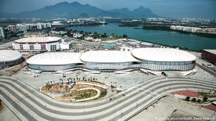 Jogos Olímpicos na Barra da Tijuca, no Rio de Janeiro