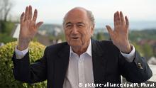 Schweiz Ex-FIFA-Präsident Joseph Blatter - Buchpräsentation