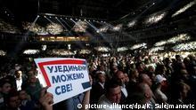 Serbien Wahlkampf Partei SNS