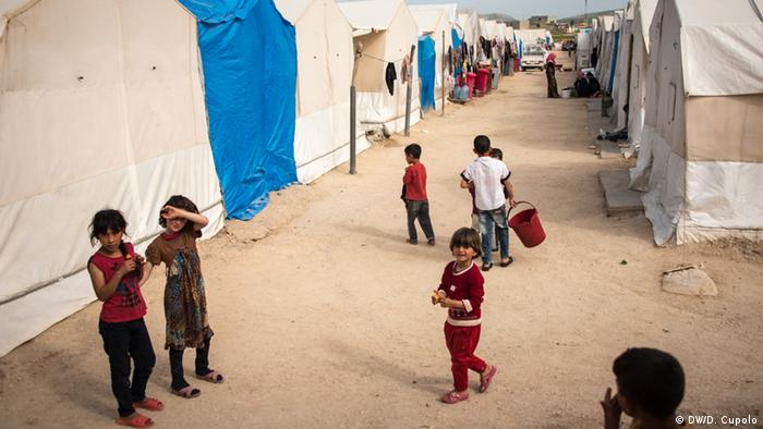 Iraq Sharya Refugee Camp (DW/D. Cupolo)