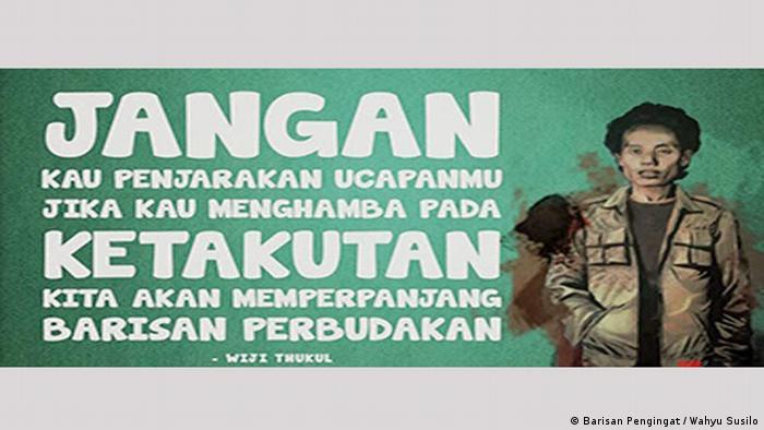 Wiji Thukul Dan Kata Kata Yang Tak Pernah Binasa Indonesia