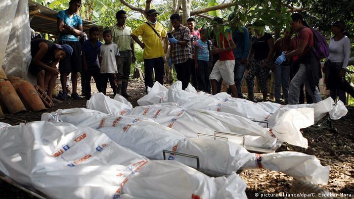 Kolumbien Santander de Quilichao Tote Soldaten nach FARC Angriff