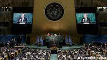 USA Vereinte Nationen Unterzeichnung Klimaabkommen von Paris