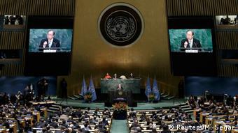 Подписание Парижского соглашения по климату в апреле 2016 года в штаб-квартире ООН
