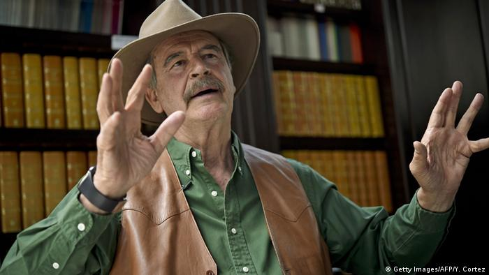 Mexiko Vicente Fox (Getty Images/AFP/Y. Cortez)
