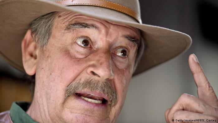 Mexiko Vicente Fox (Getty Images/AFP/Y. Cortez)