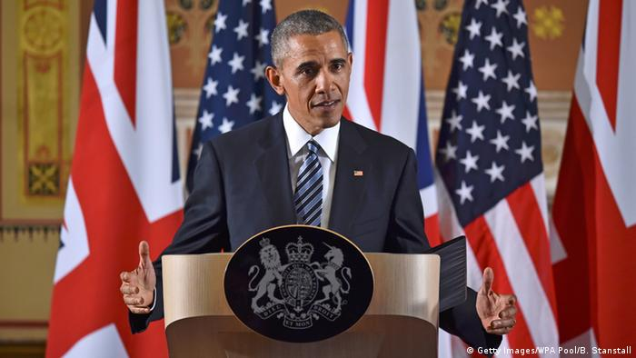Barack Obama in London, April 2016