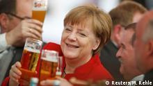 Deutschland Merkel 500 Jahre Reinheitsgebot