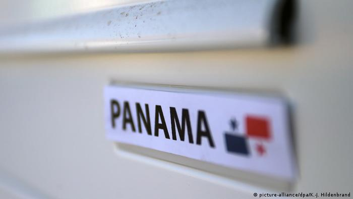 A drawer with the word Panama written on it