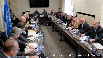 Schweiz Syrien Friedensgespräche