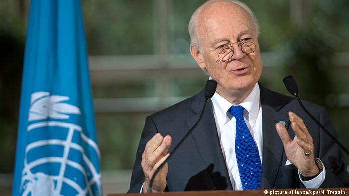 Schweiz Syrien Friedensgespräche Staffan de Mistura
