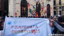 Bildbeschreibung: Anti- Regierung Proteste in Mazedonin, Skopje, 22.04.2016, Fotos: Ana Petruseva (Please credit BIRN/Prizma as author) (Mazedonien, Anti - Regierung Proteste in Mazedonin, Skopje) Copyright: BIRN/Prizma
