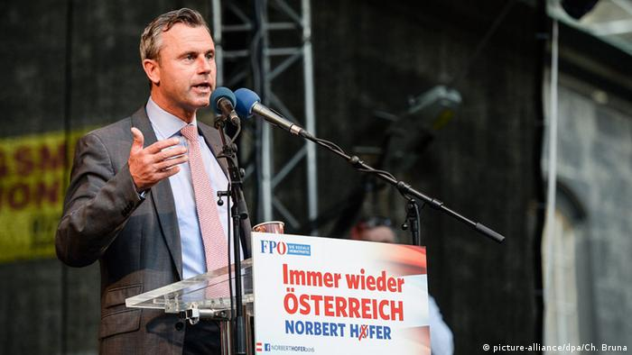 Norbert Hofer (FPÖ) - Foto: picture-alliance/dpa/Ch. Bruna