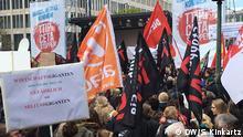 23.04.2016 Deutschland Demonstration gegen TTIP und CETA in Hannover . Copyright: DW/S. Kinkartz