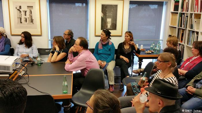 Lesung Syrische Flüchtlinge mit Dr. Roberto Di Bella