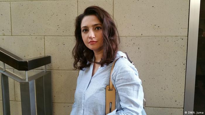 Bija Ahmadi aus dem Iran