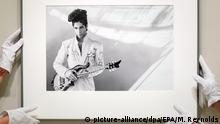 USA Fotografie von Sänger Prince in Washington